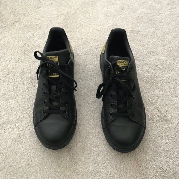 Adidas Stan Smith Sneakers Black Gold